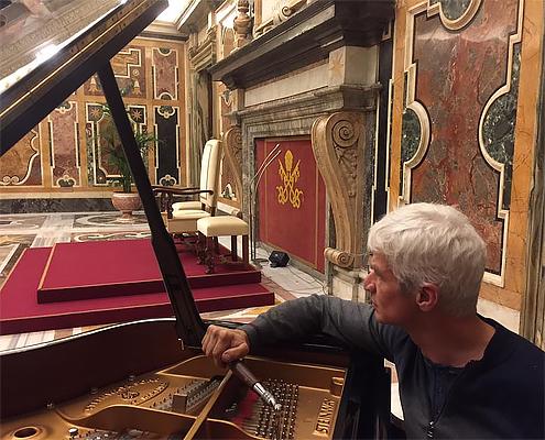 Giuseppe Floccari, Tecnico pianoforti